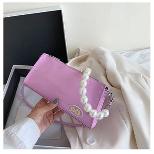 summer new small women bag fashion pearl shoulder bag foreign wild daisy armpit bag wholesale nihaojewerly NHTC216936's discount tags