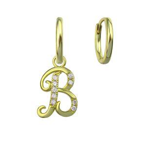 new 26 letter earrings jewelry simple earrings retro fashion earrings gift wholesale NHLJ217028's discount tags