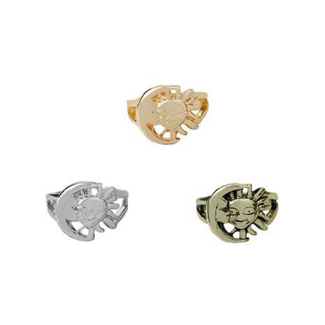 fashion Sun and Moon Rings unisex special rings wholesale NHMO217036's discount tags
