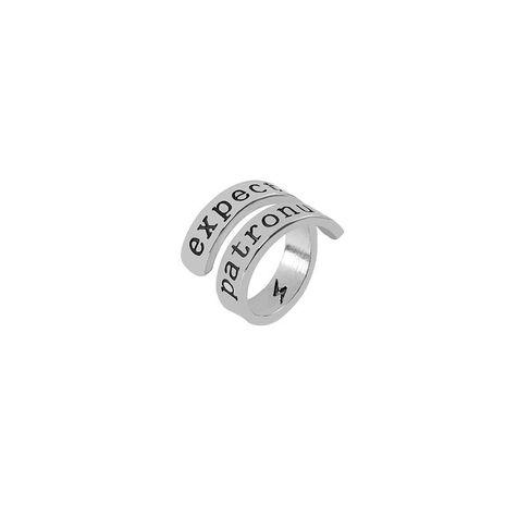 Lettres anglaises symbole de foudre bague bague doigt bague queue accessoires NHMO217043's discount tags