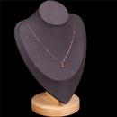 slection nouveau zircon rouge amour collier simple temprament court collier mince NHPY217129