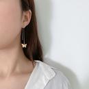 jewelry business long paragraph wild retro geometric earring temperament small butterfly pendant tassel ear line NHXR217196