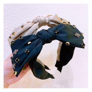 orgeous headband retro style headdress big bow diamond ornaments  party headband ornaments NHHD217362's discount tags