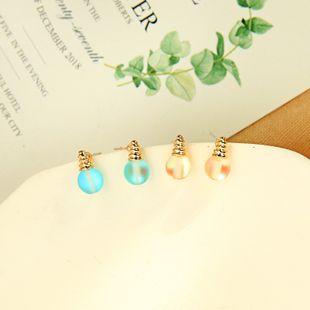 Coreano s925 pendientes de aguja de plata temperamento pendientes salvajes mujeres geométricas pendientes de bombilla brillante al por mayor NHQD217494's discount tags