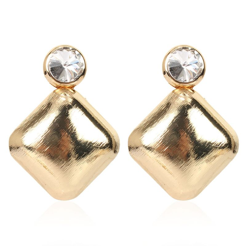 geometric earrings round cross-border fashion simple personality alloy retro earrings giorls earrings NHCT218043
