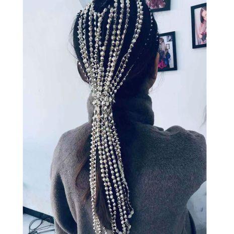 accessoires de cheveux de mode coiffure tête chaîne mot clip chaîne de cheveux gland cheveux accessoires avec le même paragraphe en gros nihaojewelry NHCT218047's discount tags