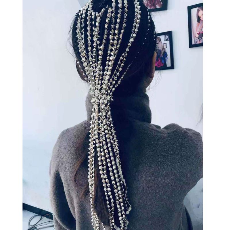 fashion hair accessories headdress head chain word clip hair chain tassel hair accessories with the same paragraph wholesale nihaojewelry NHCT218047