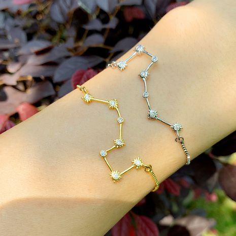 bracelet explosive bracelet diamond constellation Polaris bracelet couple bracelet wholesale NHAS218077's discount tags