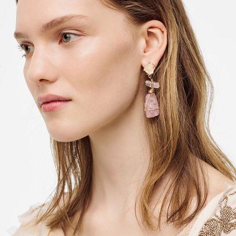 géométrique pierre imitation résine boucles d'oreilles filles boucles d'oreilles exagérées longues boucles d'oreilles en résine bijoux en gros nihaojewelry NHLA218175's discount tags
