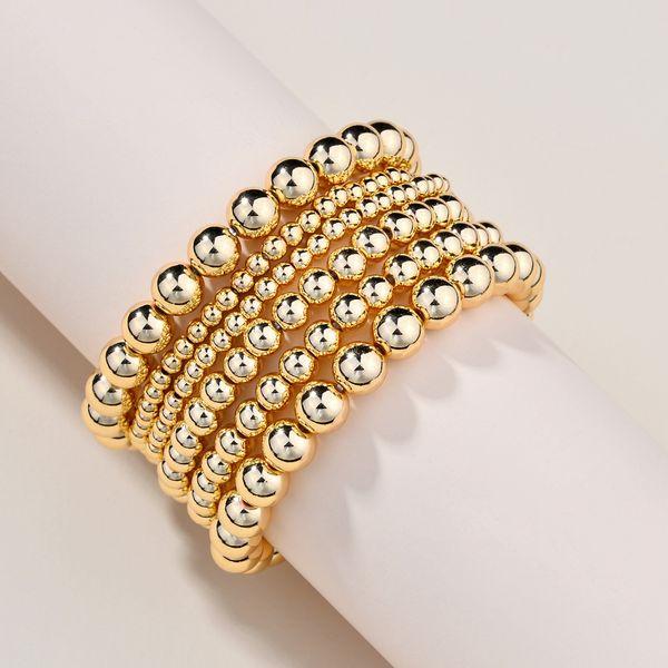 fashion bead bracelet wholesale CCB beads elastic bracelet  women's adjustable bracelet new NHLU218203