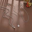 Harajuku style rue hiphop multicouche unisexe tendance personnalit collier cratif simple collier en gros nihaojewelry NHPJ218254