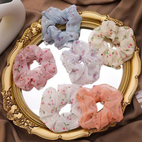 gomas para el cabello del intestino grueso de la moda gomas para el cabello Mori Chiffon hilados de seda pequeña cuerda dulce dulce cuerda de goma NHMS218311's discount tags