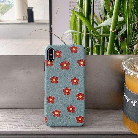 cute small flower 8plus apple x silk pattern painted mobile phone shell iphone XSMax for Huawei p30 NHFI218533's discount tags