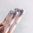 Simple small flower phone case for Apple 11 Promax iPhonexs 7plus 8plus water sticker soft shell antifall phone case wholesale NHFI218571
