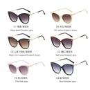 new metal rhinestone craft temple sunglasses trend sunglasses retro Harajuku style glasses  wholesale nihaojewelry NHFY218349