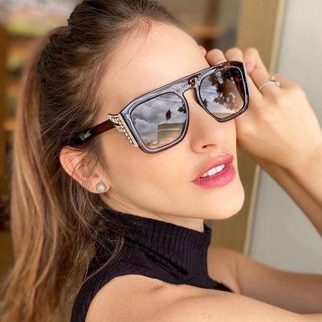 Fashion sunglasses female CP ferrule high quality frame hand-point diamond sunglasses  wholesale nihaojewelry NHFY218356's discount tags