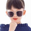 Square metal childrens sunglasses baby sunglasses boys girls kids fashion sunglasses tide retro  wholesale nihaojewelry NHKD218410