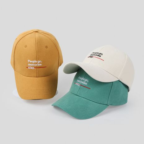 Spring new hat  wholesale Korean  English letter cap casual cute student hip-hop couple baseball cap NHTQ218477's discount tags