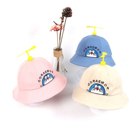 Baby hat wholesale spring  thin section young children bamboo dragonfly hat baby summer cute super cute fisherman hat windmill NHTQ218481's discount tags