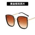 NHKD682198-Black-gold-frame-double-tea-slices