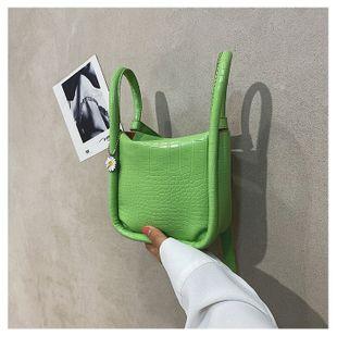 Korean fashion solid color new wave hand shoulder bag messenger  wild  retro chain armpit bag wholesale NHTC218653's discount tags