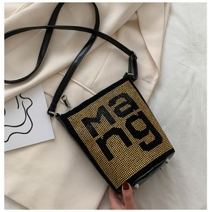 Summer  fashion new trendy chain shoulder messenger bag  wild bucket bag nihaojewelry wholesale NHTC218675's discount tags