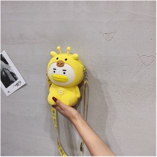 new cartoon  fashion cute bear bag shoulder messenger children bag  change mobile phone bag nihaojewelry wholesale NHGA218762's discount tags