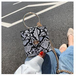 fashion sexy serpentine small bag   new wave fashion  messenger bag wild chain bag wholesale NHTC218805