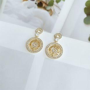 fashion personality earrings exaggerated  circle trendy earrings temperament Korean fashion earrings wholesale nihaojewelry  NHVA218967's discount tags