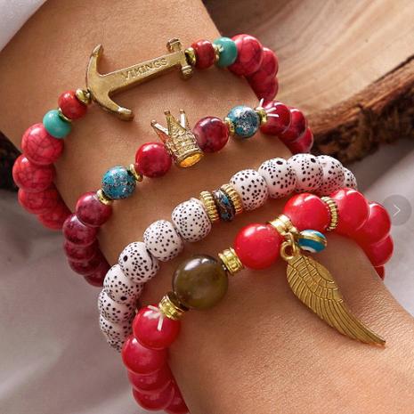 tendance de la mode bracelet de tempérament de perles multi-couches simple et polyvalent en gros nihaojewelry NHSC219339's discount tags