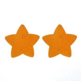 Simple y juguetón estilo primavera y verano dulce japonés lindo retro estilo Hong Kong pendientes de cinco puntas estrella al por mayor nihaojewelry NHGY219110's discount tags