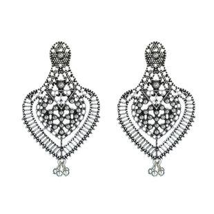 moda exagerada personalidad grandes pendientes retro campana temperamento pendientes nuevos pendientes joyería al por mayor nihaojewelry NHGY219111's discount tags