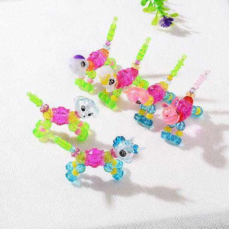 fashion cute  deformation animal bracelet super cute surprise twisted magic pet DIY children's bracelet wholesale NHMO219130's discount tags