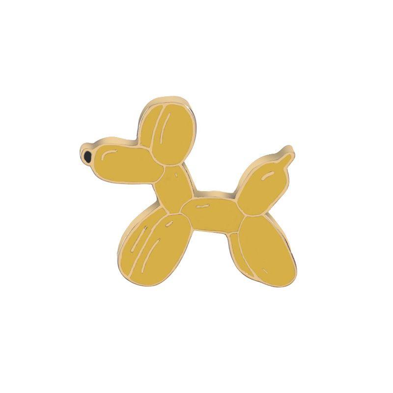fashion brooch fashion cartoon cute sausage dog wild student clothing accessories bag brooch accessorieswholesale nihaojewelry NHMO219252