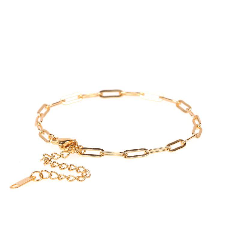 hot bracelet fashion jewelry frosty wind niche design thick chain bracelet jewelry wholesale nihaojewelry NHPY219318