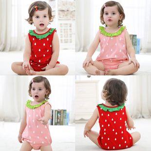 verano nuevo casual lindo triángulo super lindo Ha cómodo ropa de bebé de una pieza animal out crawl suit venta al por mayor nihaojewelry NHTV219868's discount tags