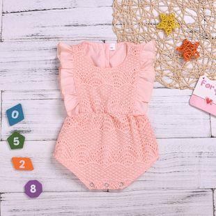 ropa para niños de verano bebé sin mangas mameluco triángulo de algodón mameluco al por mayor nihaojewelry NHYB219911's discount tags