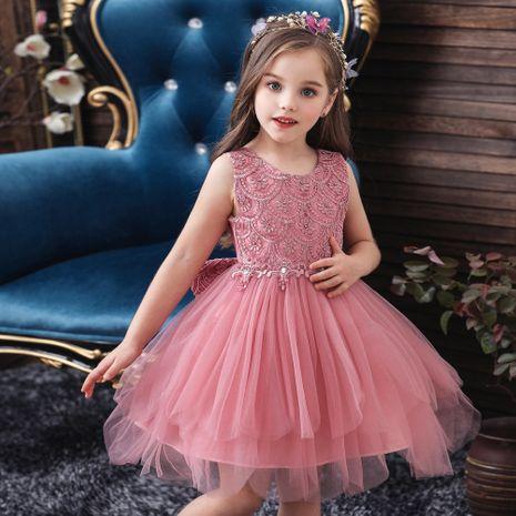 été nouvelles robes pour enfants filles jupes princesse filles de fleur robes de mariée costumes pour enfants en gros NHTY219916's discount tags