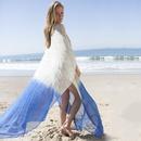 new chiffon loose large size blouse beach long skirt robestyle holiday skirt bikini blouse wholesale nihaojewelry NHXW219919