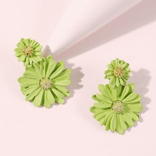 Korea jewelry fashion forest Daisy earrings spring and summer new temperament flower earrings wholesale nihaojewelry NHMD220015's discount tags
