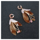 new fashion earrings wild resin flower earrings fashion exaggerated long earrings wholesale nihaojewelry NHCT220056
