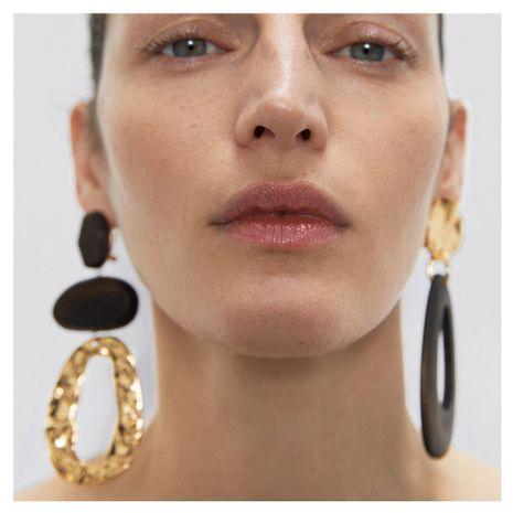 fashion retro earrings geometric earrings women's fashion simple acrylic earrings wholesale nihaojewelry NHCT220061's discount tags