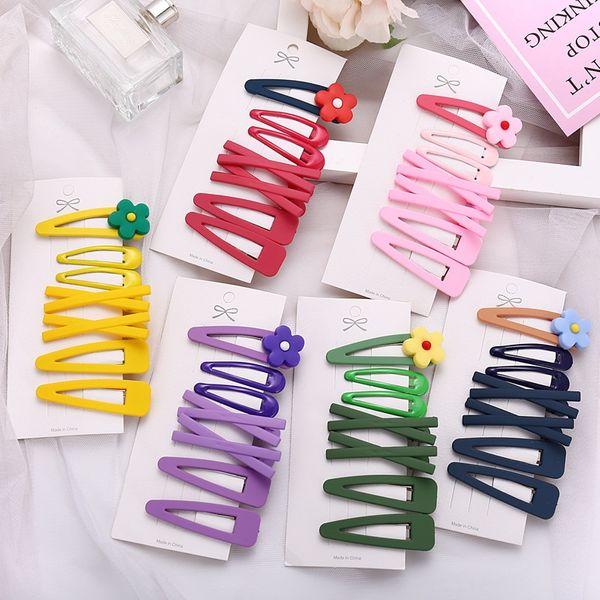 flower avocado cute side clip girl bangs flower hair clip color water drop clip wholesale nihaojewelry NHYI220236