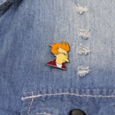 explosion brooch anime surrounding cartoon character little boy alloy student clothing bag brooch accessories wholesale nihaojewelry NHMO220245