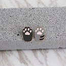 explosion brooch cartoon cute cat paw clothing accessories wild bag brooch accessories hot sale wholesale nihaojewelry NHMO220247