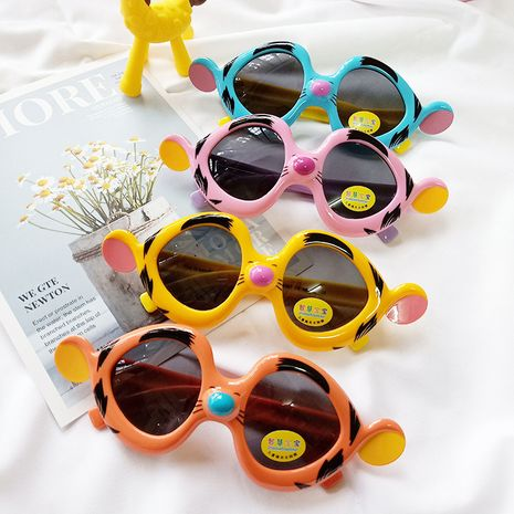 Garfield new children's polarized sunglasses new sunglasses environmentally friendly silicone fashion sunglasses wholesale nihaojewelry NHBA220365's discount tags