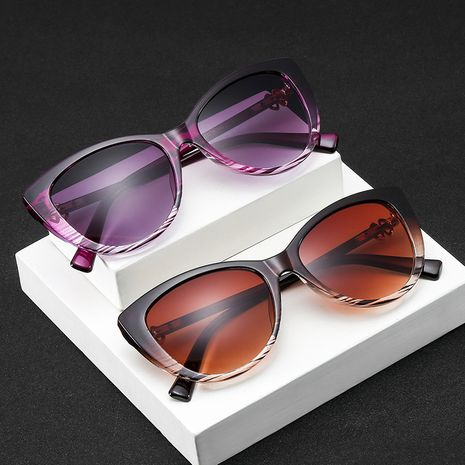 four-leaf clover cat eye sunglasses ladies new trend fashion sunglasses wholesale nihaojewelry NHBA220395's discount tags