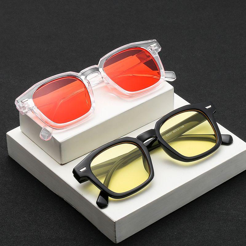 Rice nail sunglasses irregular ocean film sunglasses new wave sunglasses metal hinge wholesale nihaojewelry NHBA220400