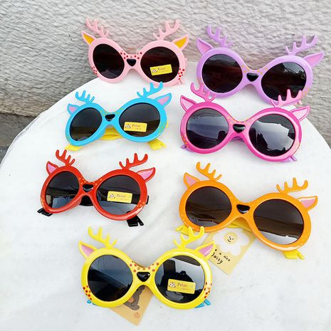 New deer bambi children sunglasses baby sunglasses fashion cartoon glasses children sunglasses wholesale nihaojewelry NHBA220409's discount tags