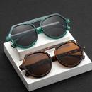 new korean fashion sunglasses tide big frame round sunglasses antiUV glasses wholesale nihaojewelry NHBA220415